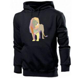 Bluza z kapturem męska Lion graphics