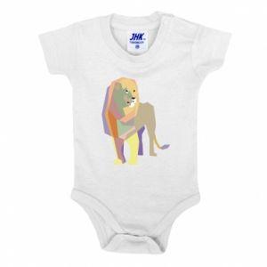 Body dziecięce Lion graphics