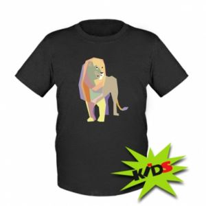 Koszulka dziecięca Lion graphics