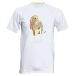 Koszulka sportowa męska Lion graphics
