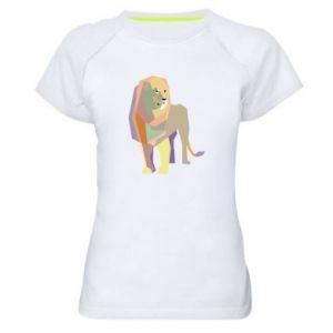 Koszulka sportowa damska Lion graphics