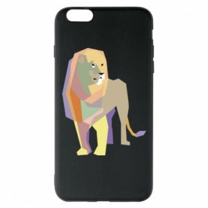 Etui na iPhone 6 Plus/6S Plus Lion graphics