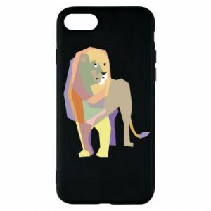 Etui na iPhone 7 Lion graphics