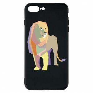 Etui do iPhone 7 Plus Lion graphics