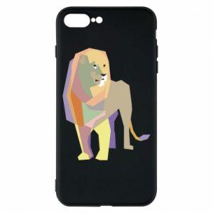 Etui na iPhone 8 Plus Lion graphics
