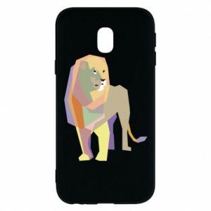 Etui na Samsung J3 2017 Lion graphics