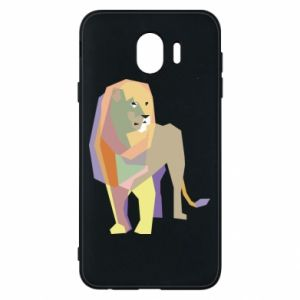 Etui na Samsung J4 Lion graphics