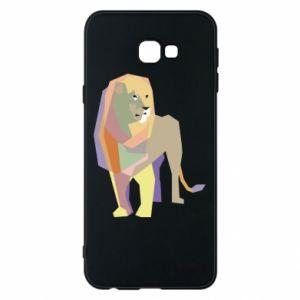 Etui na Samsung J4 Plus 2018 Lion graphics