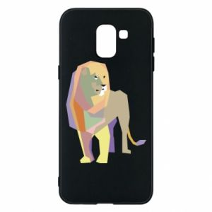 Etui na Samsung J6 Lion graphics