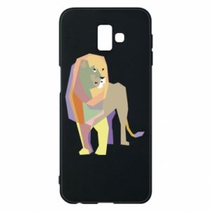 Etui na Samsung J6 Plus 2018 Lion graphics