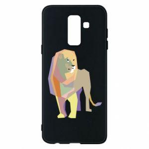 Etui na Samsung A6+ 2018 Lion graphics