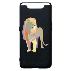 Etui na Samsung A80 Lion graphics