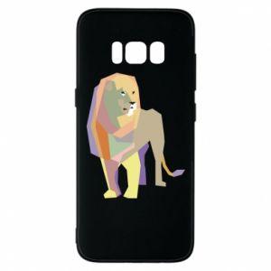 Etui na Samsung S8 Lion graphics