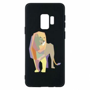 Etui na Samsung S9 Lion graphics