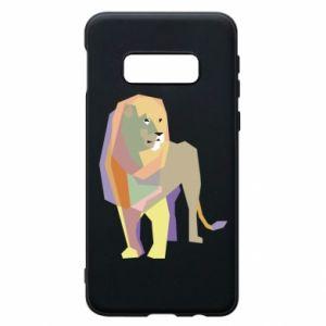 Etui na Samsung S10e Lion graphics