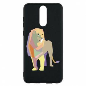Etui na Huawei Mate 10 Lite Lion graphics