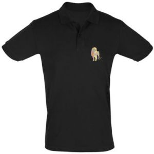 Koszulka Polo Lion graphics