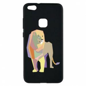 Etui na Huawei P10 Lite Lion graphics