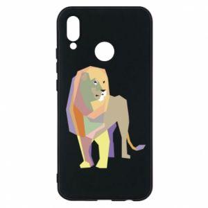 Etui na Huawei P20 Lite Lion graphics