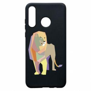 Etui na Huawei P30 Lite Lion graphics