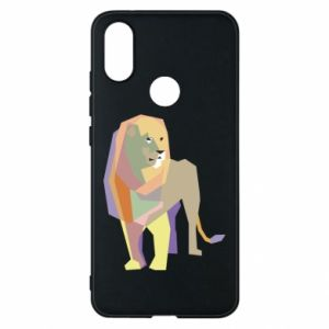 Etui na Xiaomi Mi A2 Lion graphics