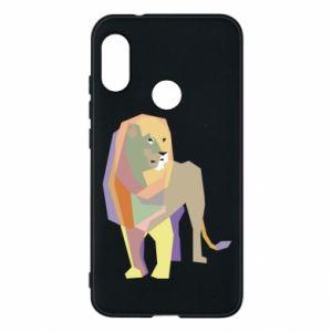 Etui na Mi A2 Lite Lion graphics