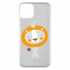 Etui na iPhone 11 Lion with a crown