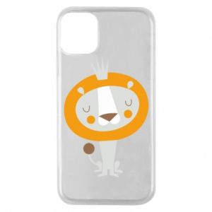 Etui na iPhone 11 Pro Lion with a crown