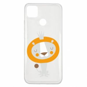 Etui na Xiaomi Redmi 9c Lion with a crown