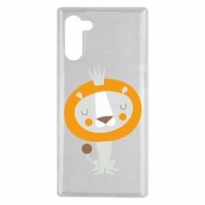 Etui na Samsung Note 10 Lion with a crown