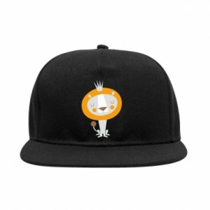 Snapback Lion with a crown