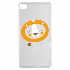 Etui na Huawei P8 Lion with a crown