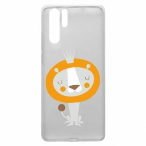 Etui na Huawei P30 Pro Lion with a crown