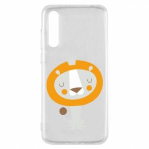 Etui na Huawei P20 Pro Lion with a crown