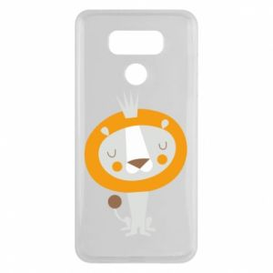 Etui na LG G6 Lion with a crown