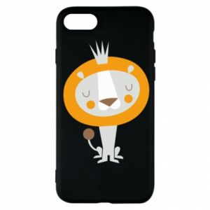 Etui na iPhone SE 2020 Lion with a crown