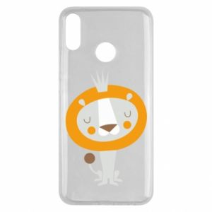 Etui na Huawei Y9 2019 Lion with a crown