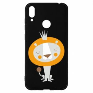 Etui na Huawei Y7 2019 Lion with a crown