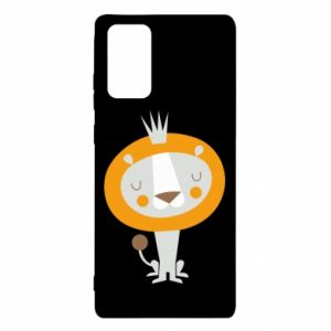 Etui na Samsung Note 20 Lion with a crown