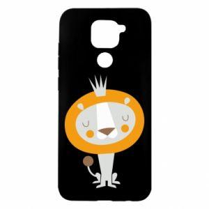 Etui na Xiaomi Redmi Note 9/Redmi 10X Lion with a crown