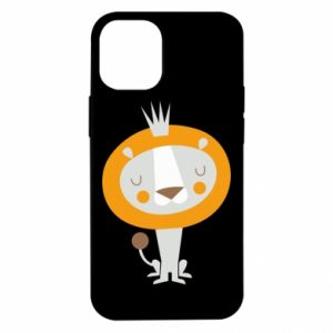 Etui na iPhone 12 Mini Lion with a crown