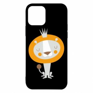 Etui na iPhone 12/12 Pro Lion with a crown