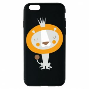 Etui na iPhone 6/6S Lion with a crown