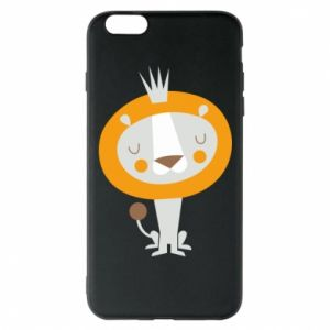 Etui na iPhone 6 Plus/6S Plus Lion with a crown