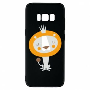 Etui na Samsung S8 Lion with a crown