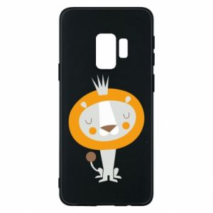 Etui na Samsung S9 Lion with a crown