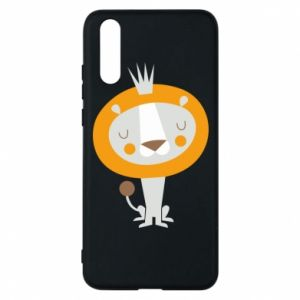Etui na Huawei P20 Lion with a crown