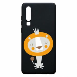 Etui na Huawei P30 Lion with a crown
