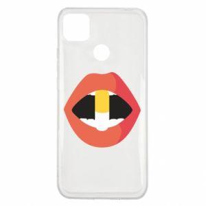 Etui na Xiaomi Redmi 9c Lips and pill