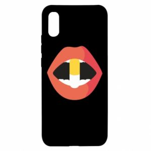 Etui na Xiaomi Redmi 9a Lips and pill